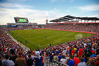 Commerce City, CO - Thursday June 08, 2017: USA supporters during their 2018 FIFA World Cup Qualifying Final Round match versus Trinidad & Tobago at Dick's Sporting Goods Park.