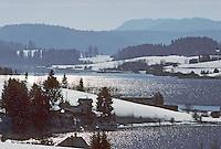Europe/France/Franche-Comté/25/Doubs/Saint-Point Lac: Le Lac de Saint-Point