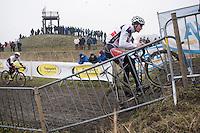 Mathieu Van der Poel (NED/Beobank-Corendon) during the Elite Men's course recon<br /> <br /> CX Superprestige Noordzeecross <br /> Middelkerke / Belgium 2017