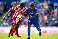Getafe CF's Mathias Olivera and Girona FC's Seydou Doumbia during La Liga match. May 05,2019. (ALTERPHOTOS/Alconada)<br /> Liga Campionato Spagna 2018/2019<br /> Foto Alterphotos / Insidefoto <br /> ITALY ONLY