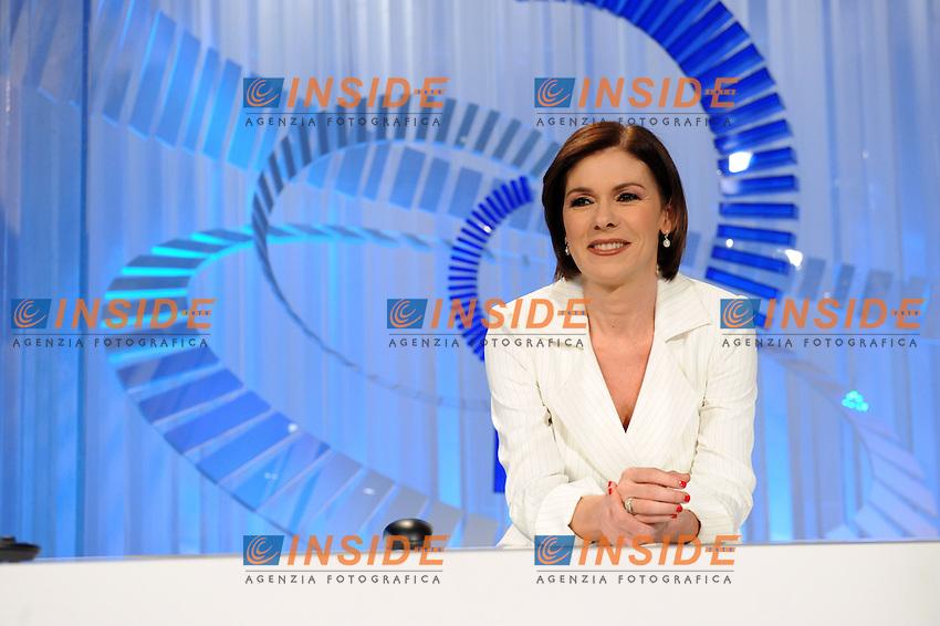 Bianca Berlinguer.Roma 21/05/2010 .Tg3 Rai.Foto Gb / Insidefoto