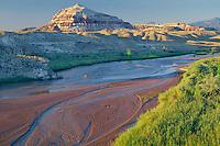 Fremont River<br /> Blue Valley<br />   near Caineville<br /> Colorado Plateau,  Utah
