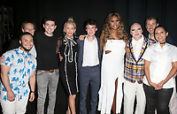 "LOS ANGELES, CA- Kieran Medina, Kerri Stoughton-Jackson, Ian Nelson, Trudie Styler, Alex Lawther,Lavern Cox,James St. James, Christopher Racster, Lucy Mukerjee-Brown, At 2017 Outfest Los Angeles LGBT Film Festival - Closing Night Gala Screening Of ""Freak Show"" at The Theatre at Ace Hotel, California on July 16, 2017. Credit: Faye Sadou/MediaPunch"