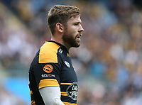 Wasps' Elliot Daly <br /> <br /> Photographer Stephen White/CameraSport<br /> <br /> Gallagher Premiership - Wasps v Leicester Tigers - Sunday 16th September 2018 - Ricoh Arena - Coventry<br /> <br /> World Copyright &copy; 2018 CameraSport. All rights reserved. 43 Linden Ave. Countesthorpe. Leicester. England. LE8 5PG - Tel: +44 (0) 116 277 4147 - admin@camerasport.com - www.camerasport.com