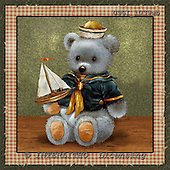GIORDANO, CUTE ANIMALS, LUSTIGE TIERE, ANIMALITOS DIVERTIDOS, Teddies, paintings+++++,USGI1039WB,#AC# teddy bears