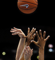 Bent Pinky. BYU vs. TCU women's college basketball, Mountain West Conference Tournament in Denver.