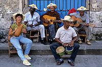 Cuba, Havana: Traditional Cuban musicians | Kuba, Havana: traditionelle kubanische Musiker