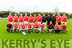 The St Pats team that played Currow in the County League in Currowon Sunday