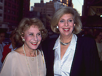 Joan Hamburg &amp; Arlene Francis <br />