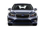 Car photography straight front view of a 2018 Subaru Legacy Premium 4 Door Sedan