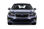 Car photography straight front view of a 2018 Subaru Legacy Premium 4 Door Sedan