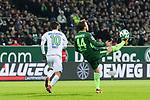 11.02.2018, Weserstadion, Bremen, GER, 1.FBL, SV Werder Bremen vs VfL Wolfsburg<br /> <br /> im Bild<br /> Yunus Malli (VFL Wolfsburg #10), Philipp Bargfrede (Werder Bremen #44),  <br /> <br /> Foto &copy; nordphoto / Ewert