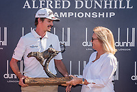 Pedro Figueiredo (POR) and Hennie Otto (RSA) after the Alfred Dunhill Par 3 ahead of the Alfred Dunhill Championship, Leopard Creek Golf Club, Malelane, South Africa. 12/12/2018<br /> Picture: Golffile | Tyrone Winfield<br /> <br /> <br /> All photo usage must carry mandatory copyright credit (&copy; Golffile | Tyrone Winfield)