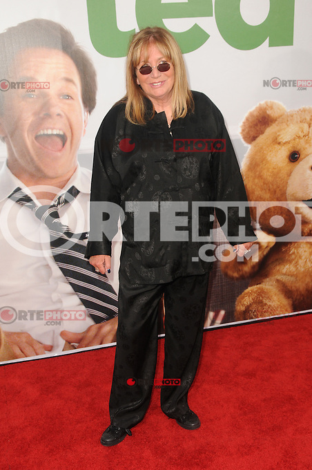 Penny Marshall at the premiere of Universal Pictures' 'Ted' at Grauman's Chinese Theatre on June 21, 2012 in Hollywood, California. &copy;&nbsp;mpi35/MediaPunch Inc. NORTEPHOTO.COM<br />