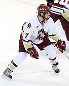 Carl Sneep (BC - 7) - The Boston College Eagles defeated the University of Massachusetts-Amherst Minutemen 6-5 on Friday, March 12, 2010, in the opening game of their Hockey East Quarterfinal matchup at Conte Forum in Chestnut Hill, Massachusetts.