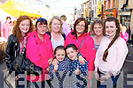 Enjoying the coronation of King puck at Puck Fair on Sunday was l-r:  front Sophie McKenna and Emma Healy. Back row: Emma Carroll, Martina Carroll, Lisa Morey, Jacinta Carroll, Marie Healy and Grace Morey Killorglin