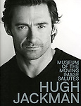 Program / Poster The Museum of Moving Image salutes Hugh Jackman at Cipriani Wall Street in New York on December 11, 2012