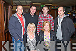 REUNION: Enjoying a great time at the APPU St. Brendan's Park FC Reunion in the Castle Bar, Tralee on Thursday seated l-r: Lorraine Scanlon and Mary McLoughlin. Back l-r: David Scanlon, Liam Martin, Tom Nix and Frank McLoughlin..
