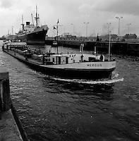 Juni 1962. Schip Mergus.