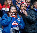 16.03.2019 Rangers v Kilmarnock: Rangers fans