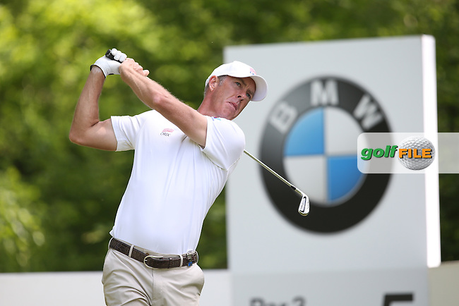 Richard Green (AUS) carded a 68 during Round Three of the 2015 BMW PGA Championship over the West Course at Wentworth, Virginia Water, London. 23/05/2015. Picture David Lloyd | www.golffile.ie.