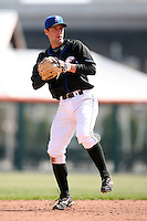 April 25, 2009:  Shortstop Jonathan Malo of the Buffalo Bisons, International League Class-AAA affiliate of the New York Mets, during a game at the Coca-Cola Field in Buffalo, NY.  Photo by:  Mike Janes/Four Seam Images