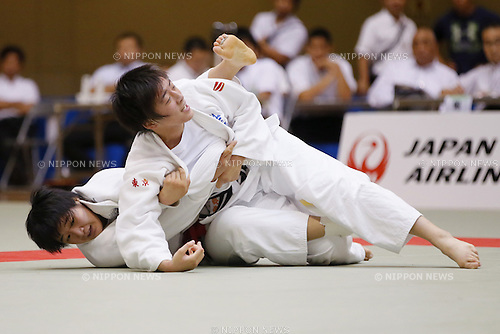 Utane Sugiyama, September 14, 2014 - Judo : All Japan Junior Judo Championships Women's -70kg Final at Saitama Prefectural Budokan, Saitama, Japan. (Photo by Yusuke Nakanishi/AFLO SPORT) [1090]
