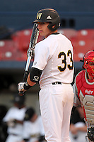 Western Michigan Broncos second baseman Dan Shutes #33 during a game against the Illinois State Redbirds at Chain of Lakes Stadium on March 10, 2012 in Winter Haven, Florida.  Illinois State defeated Western Michigan 10-9.  (Mike Janes/Four Seam Images)
