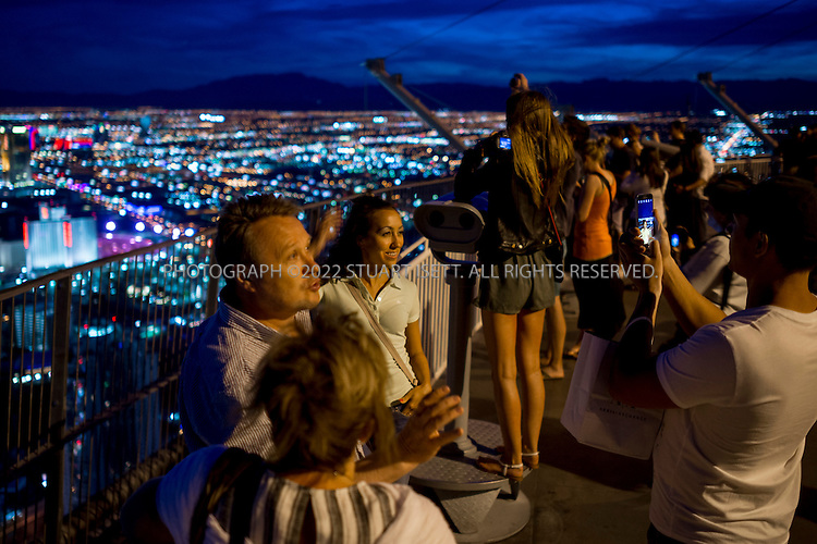 5/13/2015&mdash;Las Vegas, Nevada, USA<br /> <br /> View of Las Vegas from the Stratosphere Tower with The Strip and all the famous casinos.<br /> <br /> Photograph by Stuart Isett<br /> &copy;2014 Stuart Isett. All rights reserved.