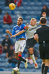 28.07.2019 Rangers v Derby County: Connor Goldson and Martyn Waghorn
