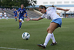 26 August 2012: UNC's Reilly Parker. The University of North Carolina Tar Heels defeated the University of Montreal Caribins 1-0 in overtime at Fetzer Field in Chapel Hill, North Carolina in an international women's collegiate friendly game.