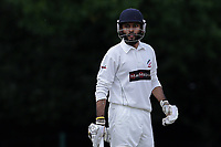 N Jacobs of Ilford during Ilford CC (batting) vs Billericay CC, Shepherd Neame Essex League Cricket at Valentines Park on 25th May 2019
