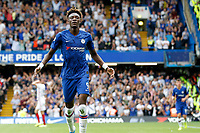 GOAL - Tammy Abraham of Chelsea makes it 2-0 during the Premier League match between Chelsea and Sheff United at Stamford Bridge, London, England on 31 August 2019. Photo by Carlton Myrie / PRiME Media Images.