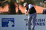 Darren Clarke (NIR) in action on the 1st tee during Day 1 Thursday of the Open de Andalucia de Golf at Parador Golf Club Malaga 24th March 2011. (Photo Eoin Clarke/Golffile 2011)