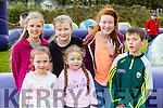 Enjoying the Anabla NS funday on Sunday were Chloe Lucey, Rebecca O'Leary, Darragh O'Brien, back row: Miriam O'Connell, Bridann crowley and Denise Crowley