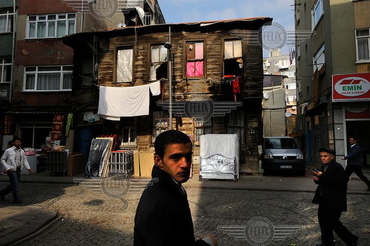 A rare example of an Ottoman-era wooden house.