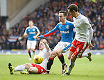 Barrie McKay attacking through the middle