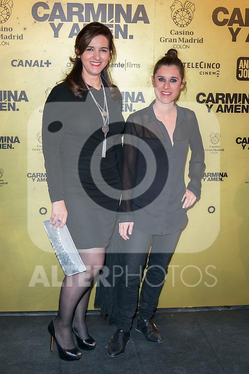 "Lum Barrera attend the Premiere of the movie ""Carmina y Amen"" at the Callao Cinema in Madrid, Spain. April 28, 2014. (ALTERPHOTOS/Carlos Dafonte)"