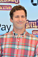 "Andy Samberg at the world premiere for ""Hotel Transylvania 3: Summer Vacation"" at the Regency Village Theatre, Los Angeles, USA 30 June 2018<br /> Picture: Paul Smith/Featureflash/SilverHub 0208 004 5359 sales@silverhubmedia.com"