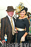 Sean O'Donoghue and Carmel Joyce, Tralee pictured at Galway Races ladies day on Thursday at Ballybrit racecourse.