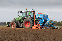 16.9.2020 Drilling Sartorial Winter  Wheat in the Lincolnshire Fens<br /> ©Tim Scrivener Photographer 07850 303986<br />      ....Covering Agriculture In The UK.