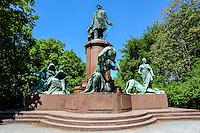 Berlin, Germany. The Bismarck Memorial located in the Tiergarten.