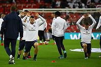 Aufwärmen England - 10.11.2017: England vs. Deutschland, Freundschaftsspiel, Wembley Stadium