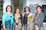 Artists Diana Muller, Pamela Muller and Joanne Yelen all Sneem with Maeve McCarthy Brandon at the Gathering Art exhibition in the Department of Arts, Tourism and the Gaelteacht on Monday evening