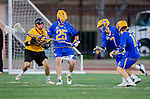 Los Angeles, CA 02/01/14 - David Abady (UCSB #25), Matt Yaldezian (UCSB #7) and Will Floersheimer (USC #8)