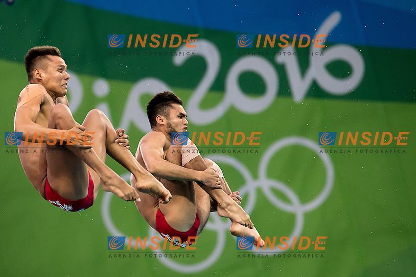 Team  MEX GARCIA Ivan SANCHEZ German<br /> 10m platform synchro men<br /> Rio de Janeiro  XXXI Olympic Games <br /> Olympic Aquatics Stadium <br /> diving 08/08/2016<br /> Photo Giorgio Scala/Deepbluemedia/Insidefoto
