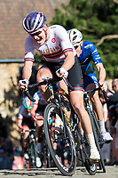 Picture by Alex Whitehead/SWpix.com - 14/05/2017 - Cycling - 2017 HSBC UK   Spring Cup Road Series - Lincoln Grand Prix - Team Wiggins' Sam Harrisonclimbs Michaelgate cobbles.