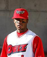 Ivan Contreras / Orem Owlz..Photo by:  Bill Mitchell/Four Seam Images