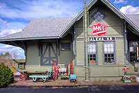 The Galena Mining & Historical Museum is located in an old MKT train depot, which was moved to the current location on route 66.