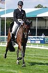 Paul Tapner riding Inonothing during day 2 of the dressage phase at the 2012 Land Rover Burghley Horse Trials in Stamford, Lincolnshire,UK.